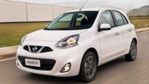 Nissan March - carros com seguro mais baratos