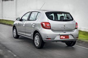 Renault Sandero - carros com seguro mais baratos